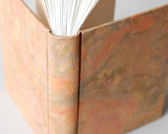 Autumn Marbled Journal