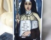 St. Teresa of Avila Prayer Card