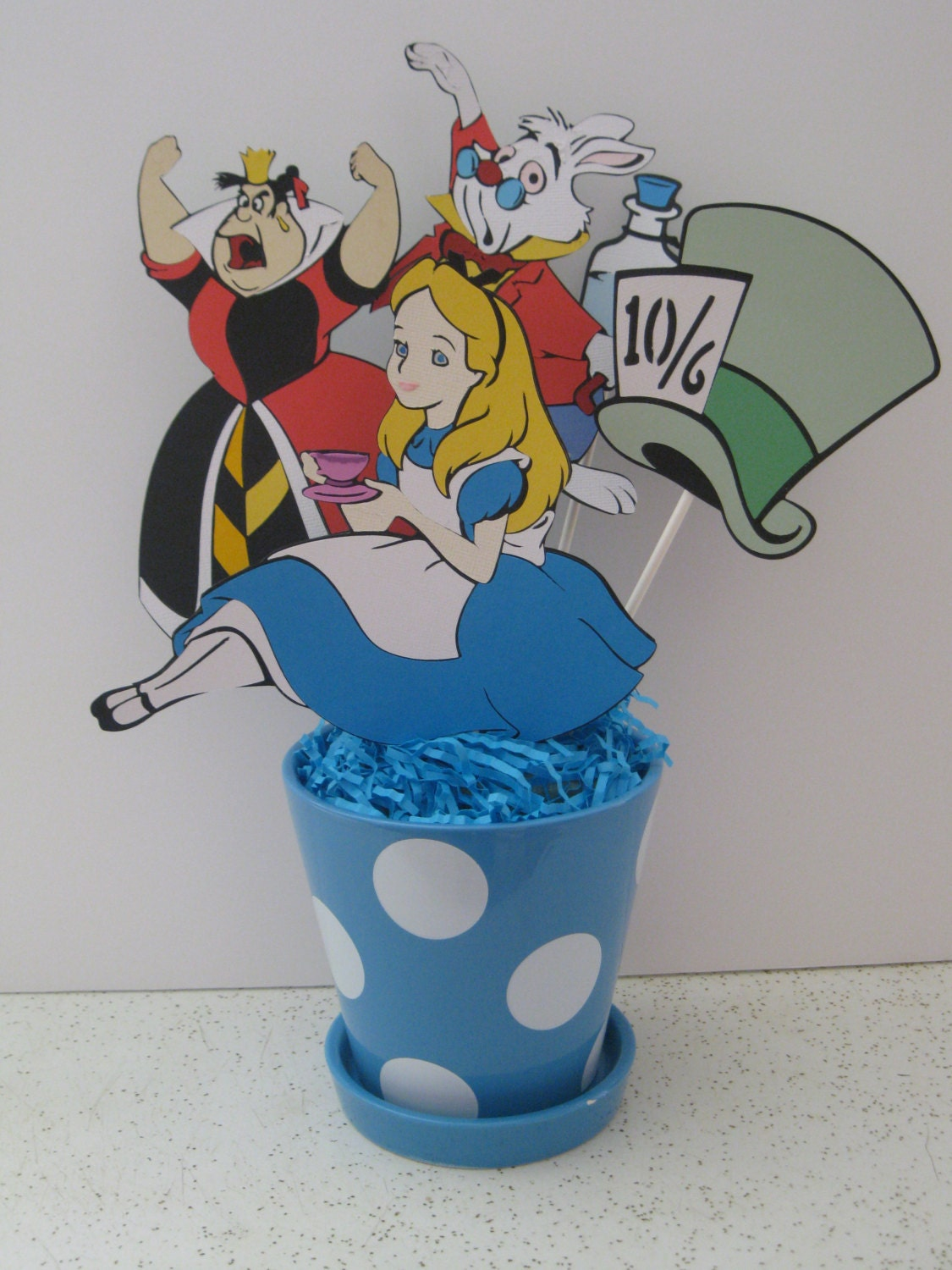 alice in wonderland centerpiece  decoration