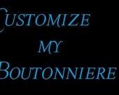 Individuelle Galaxie Boutonniere Sammlung - meine Boutonniere anpassen