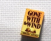 Needle Minder Miniature Book Gone with the Wind 1 Inch