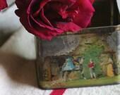 SALE rose tin photograph