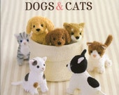 Kawaii Dogs & Cats Stuffed Animals - Japanese Sewing Pattern Book for Making Animal Dolls - Sachiko Susa - B1220