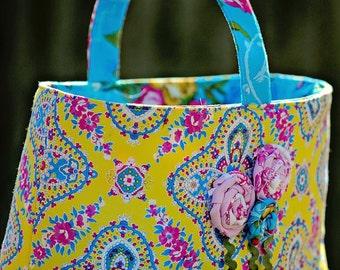 Easter Basket Sewing Pattern, Sewing Patterns, Little LIzard King, Bag PDF - Reversible Holiday Basket Pattern