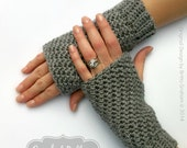 Fingerless Gloves Crochet Pattern No.915 Crochet Glove Pattern Quick and Easy Digital Download PDF