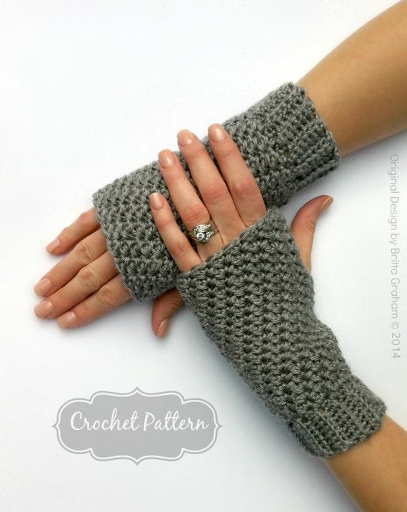 Free Crochet Patterns Hobo Gloves : Fingerless Gloves Crochet Pattern No.915 Crochet Glove Pattern