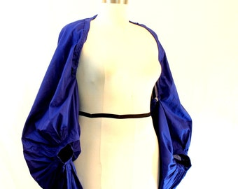 Royal Blue  Cocoon Shrug Bolero Oversized Sizes( 2 - 32)