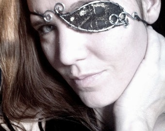 Steampunk Pirate - WireWork and Lace Eyepatch