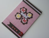 Altered Steno Pad - Butterflies