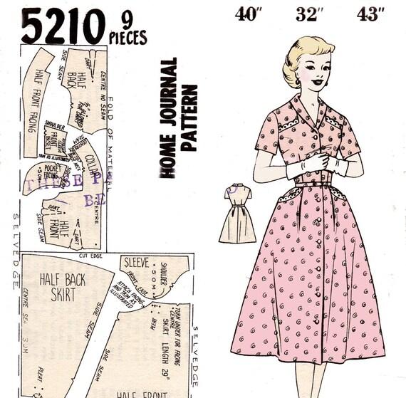 Винтажное платье выкройка