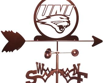 Hand Made University Of Northern Iowa UNI Panthers Weathervane NEW