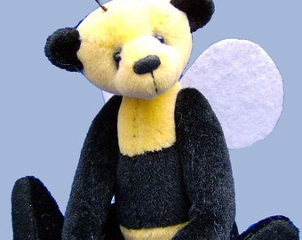 Bumble Bee Miniature Bear - a complete sewing kit