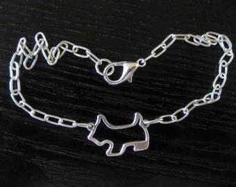 Scotty Dog Ankle Bracelet