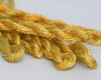 Handspun Silk Embroidery Floss 5yd Hank