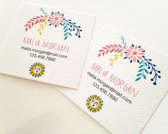 Business Cards, Custom Business Cards, Set of 48