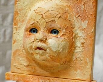 Sun Warmed Face altered art