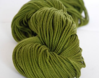 OLIVE - Pure Cotton Yarn 100gr color no. 10