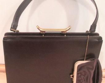Beautiful Brown Leather Handbag by Dorian