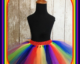 5T-Adult Sized Rainbow Tutu