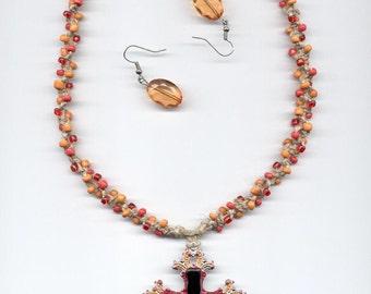 Hemp Necklace Fall