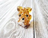 Poppy the Red Fox - Swarovski Crystal Beaded Animal Collectible