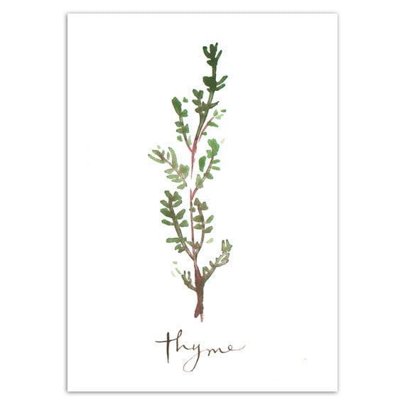 Kitchen Wall Art Herbs