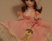 """Bradley Doll Melisa- Vintage Big Eyed Doll- Boudoir Doll- Collectible Doll 13"""" With Tag"""