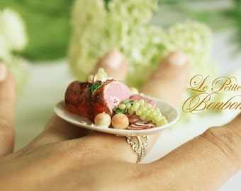 Ham Thanksgiving Christmas ring.