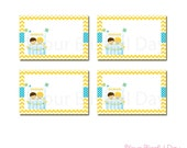 PRINTABLE Lemonade Stand Party Label Tents #545
