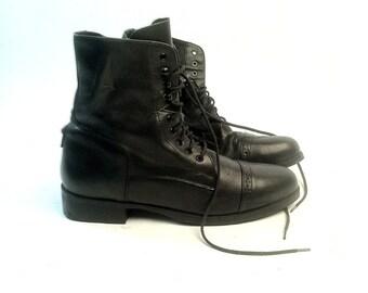 SALE - 90's Femme Combat Boots - Sz 10 (women's US)