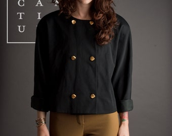 Bloomingdale's  Double Breasted Wool Jacket