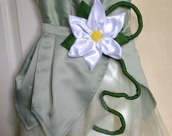 CUSTOM MADE -  Disney Princess Tiana Childs Costume / Dress