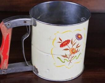 Vintage Androck Hand-i-Sift 3 Screens - Vintage Flour Sifter - Vintage Kitchen