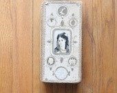 Antique Victorian/Edwardian Box of Family Momentos, Tin Types, Photos, Letters, Glasses, etc...