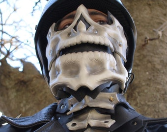 Skull Motorcycle Mask and Neck Guard