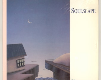 Rob Mullins, Soulscape, with Marty Ruddy on Bass, Great Jazz Album, Vintage Vinyl Record Album, 1985 RMC LP -