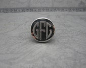 RESERVED FOR TABATHA--Custom Monogram Ring