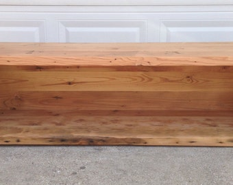 Reclaimed Pine Bench