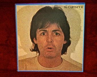 PAUL McCARTNEY - McCartney II - 1980 Vintage GATEfold Vinyl Record Album