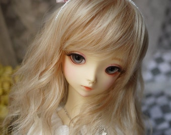 Ribbon Bow Knot Hair Band for BJD SD and MSD/YoSD Dolls 2 Colors Available (Type 10)