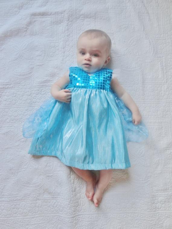 On Sale Frozen Elsa Dress Costume 12 18 Months 1 By Heartcard