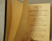 Antique Manual of the Children of Mary Published by P. O'Shea Late 1800s