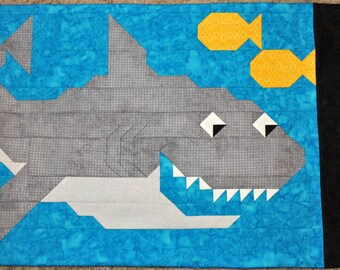 Shark Pillowcase Pattern