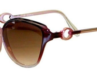 Vintage 1980s Fashion Sunglasses by Anne de France Never Worn