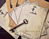 SALE - Gashlycrumb Tinies - Eloquent Note Card Set with Envelopes