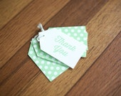 SALE Thank You Gift Tags, 12 pack