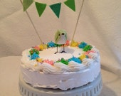 Pistachio Green Custom Baby Shower Cake Topper. It's a Boy! Baby Shower! - MADE TO ORDER!