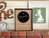 PRINTABLE {handwritten} 2014 Calendar with 2 different variations INSTANT DOWNLOAD