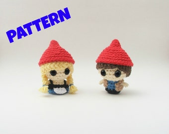 Gnome Pattern / Crochet Doll Pattern / Amigurumi Doll Pattern / Christmas Doll Pattern / Kids Toys / Christmas Gifts / Baby Toy Pattern