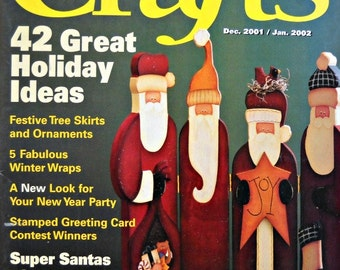 Crafts Magazine - December 2001/January 2002 Issue